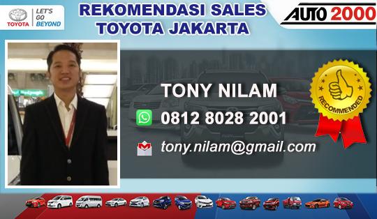 Rekomendasi Sales TOYOTA SLIPI, Jakarta Barat