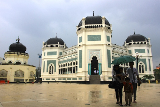 Objek Wisata Masjid Raya Medan