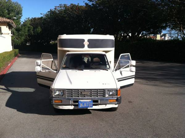 Used RVs Rare 1984 Toyota Gransport RV For Sale by Owner