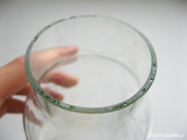 Jak zrobić wazon ze szklanej butelki - zrób to sama DIY