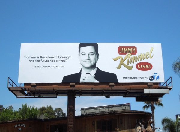 Jimmy Kimmel Live 2013 billboard