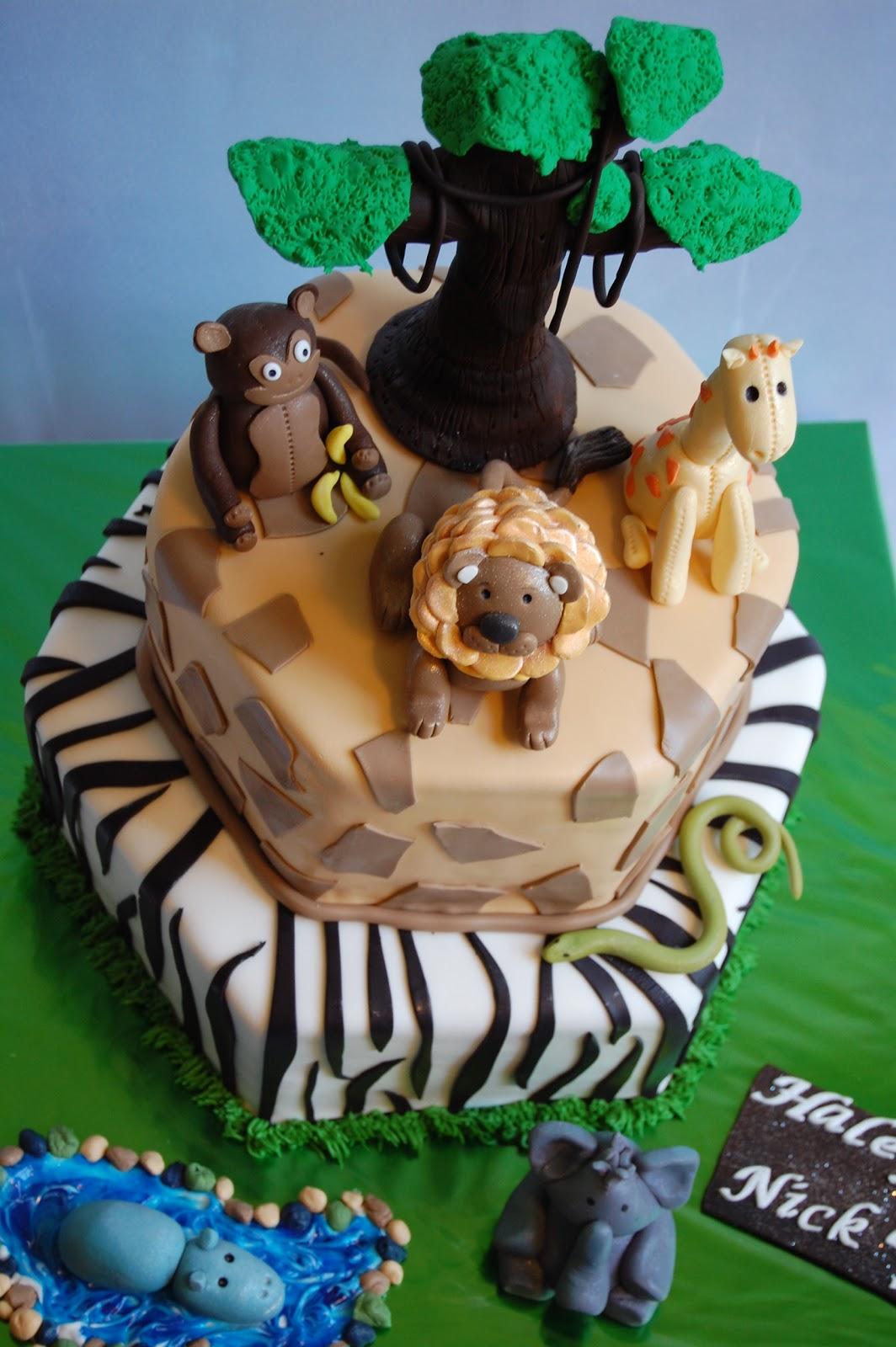Customised Cakes By Jen Safari Cake