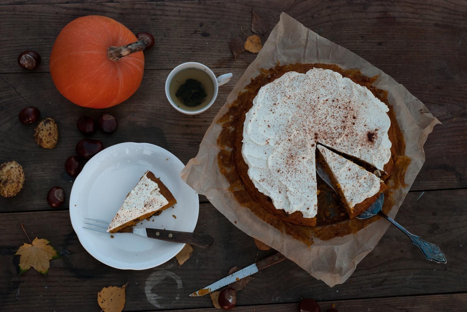 Ciasto dyniowe z bakaliami bez glutenu