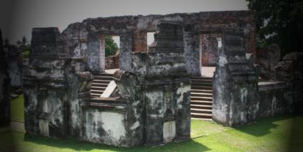 Foto Benteng kerajaan islam banten