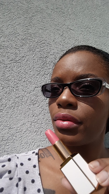 Tom Ford Lip Color Sheer 'Paradiso' swatch - www.modenmakeup.com