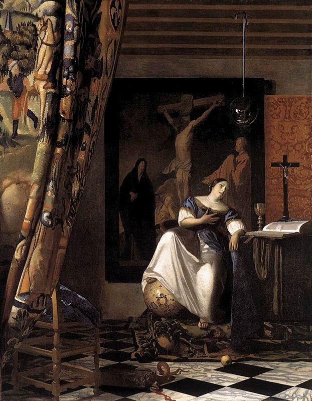 L'al·legoria de la fe (Jan Vermeer de Delft)