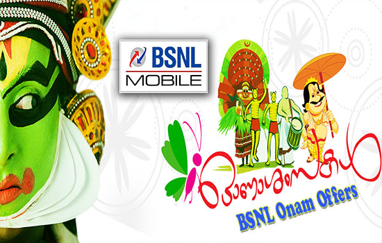 BSNL Onam Offers 2016: Get 10% Extra on Data STVs and Full Talk Time for Top up 160 & 260 from 9th September 2016