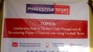 Phreestyle Sport charges Football Managers, Administrators, Players to lead by example