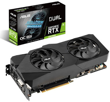 Asus Dual GeForce RTX 2060 Super EVO OC Edition 8GB