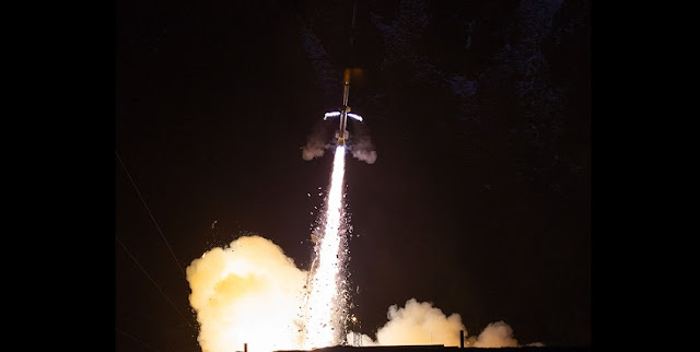 CAPER-2 launches from the Andøya Space Center. Credit: NASA/Chris Perry