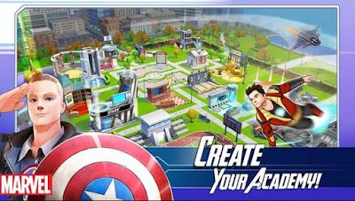 Screenshot MARVEL Avengers Academy Mod Apk