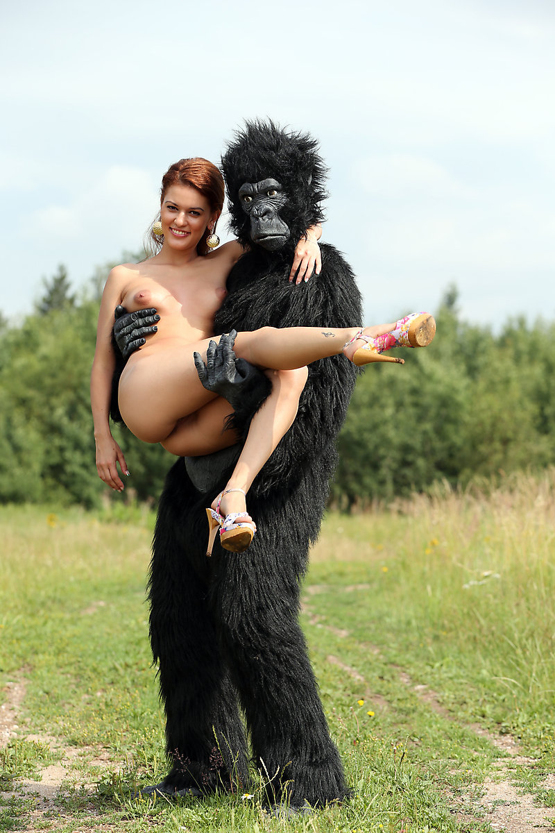 Fuck monkey girl Sex with