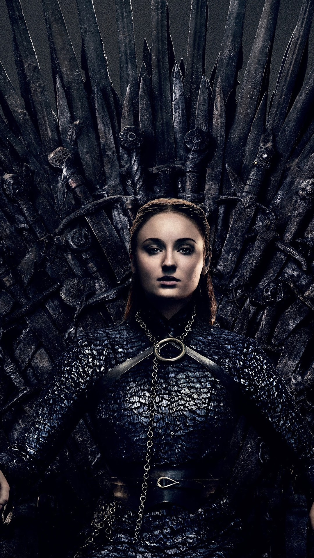 Sansa Stark Game Of Thrones Iron Throne Season 8 4k Wallpaper 90