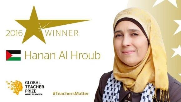 Guru Dari Palestin Diangkat Sebagai Guru Terbaik Global 2016