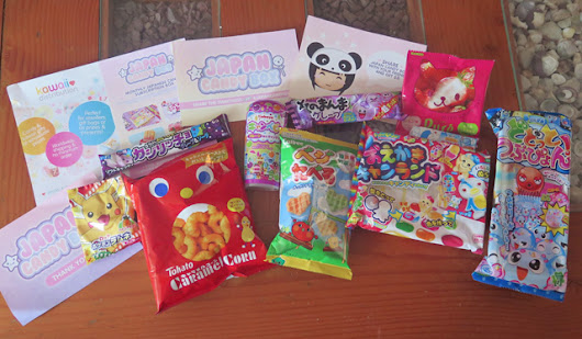 Japan Candy Box + Giveaway!
