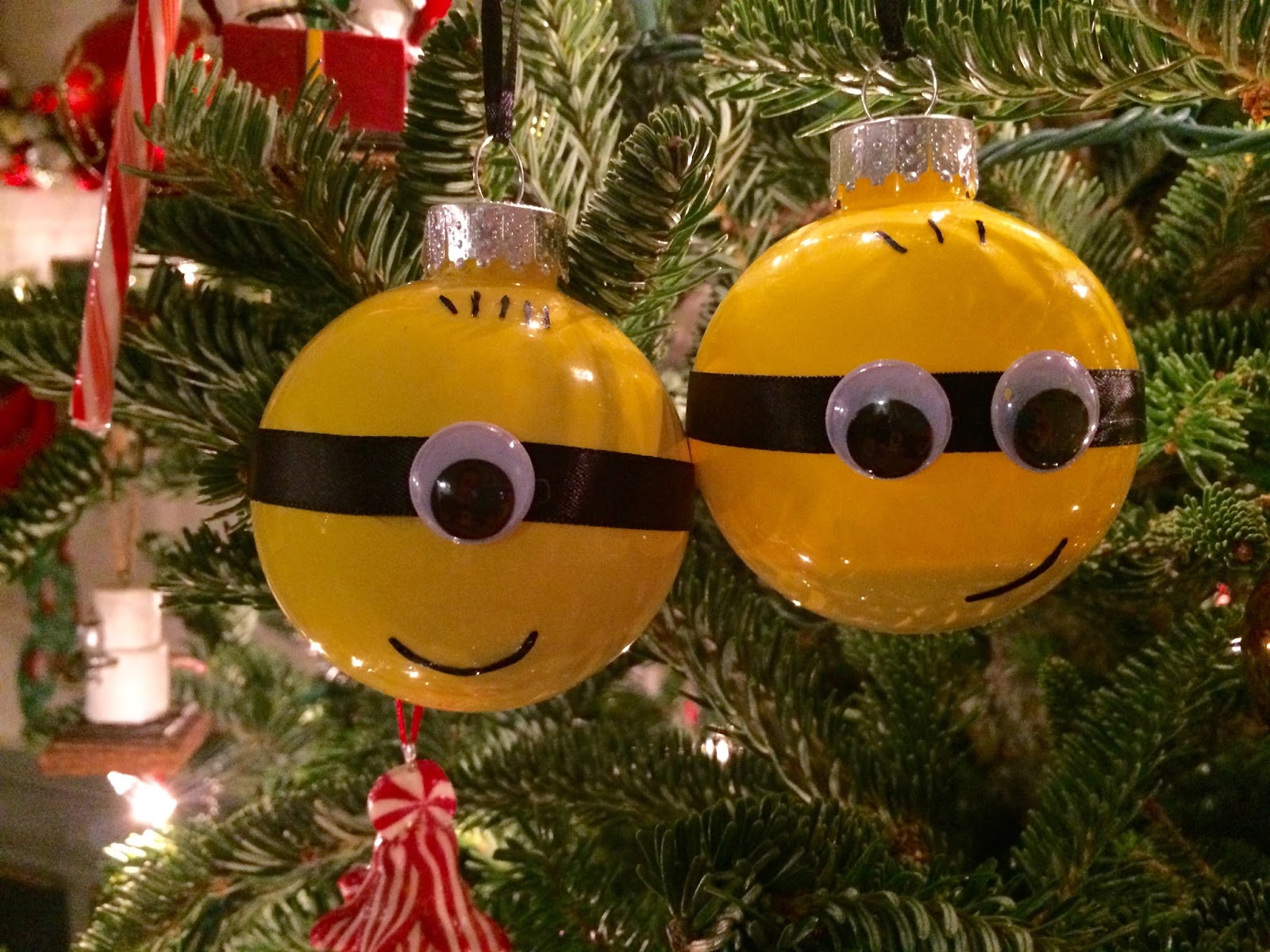 my boys loved the ornaments and they are excited to pull them out every year to add to our tree - Minion Christmas Ornament