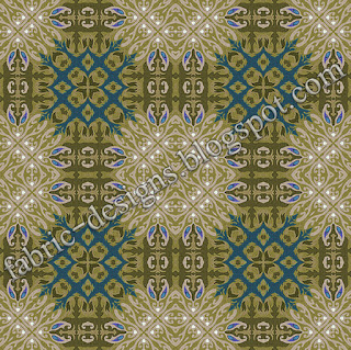 textile geometric pattern and design