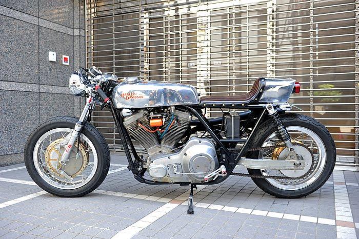 Racing Caf U00e8  Harley Fxr 1985 By Snug Motorcycle