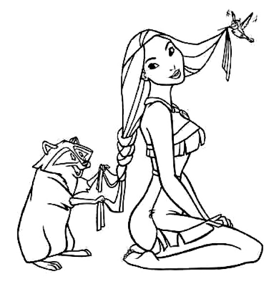 Pocahontas Coloring Pages Free Printable Pocahontas Coloring Pages To  Throughout Pocahontas Coloring Pages