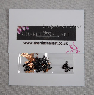 Charlie's Nail Art Butterfly Charms