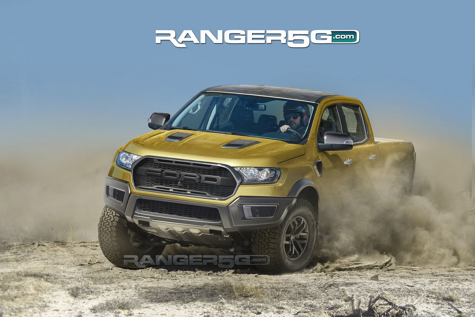 Please Let The Upcoming Ford Ranger Raptor Look Like This | Carscoops