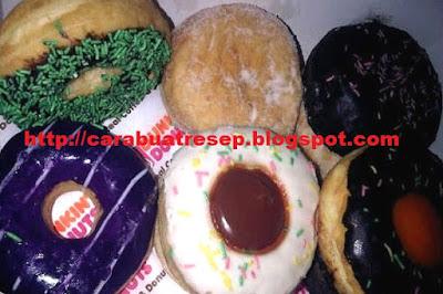 Foto Resep Donat Dunkin Donuts Lembut dan Empuk Asli Enak