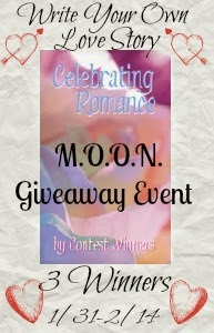 Enter to win the Write Your Own Love Story Giveaway. Ends 2/14.