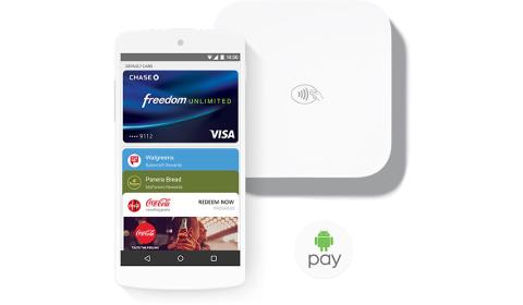 Fidélité sur Android Pay