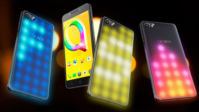 Alcatel A5 LED: Smartphone with interactive LED cover