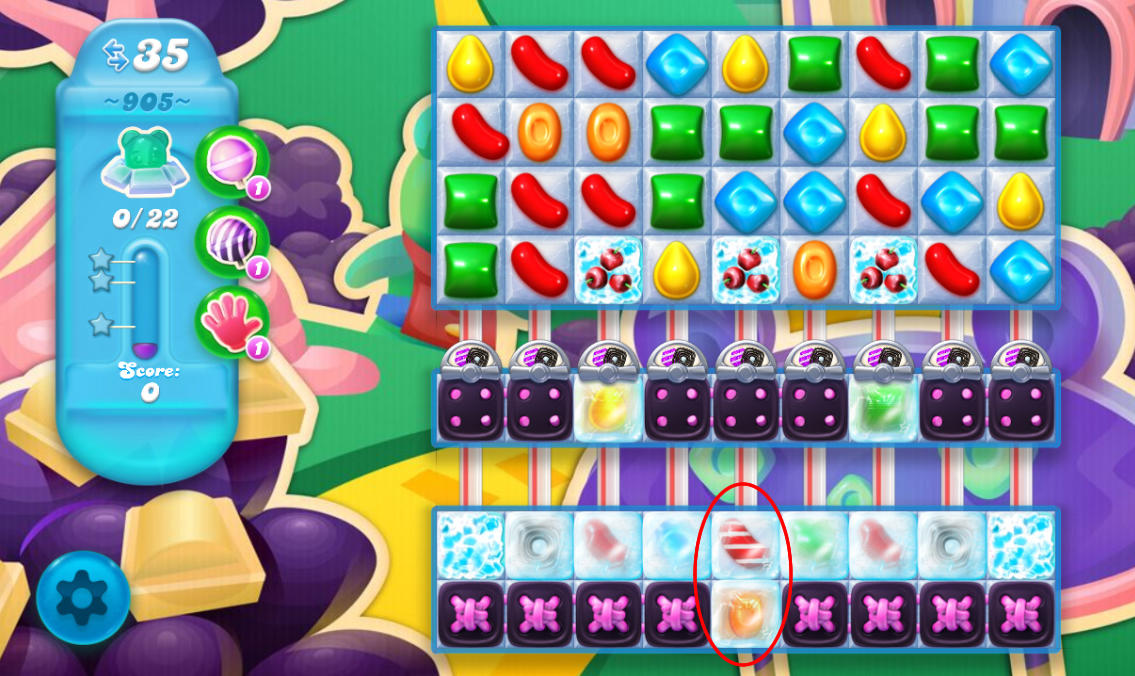 Candy Crush Soda Saga 905