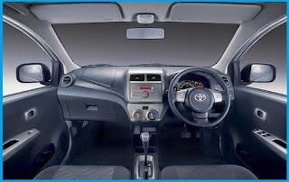 Desain Interior Toyota Agya