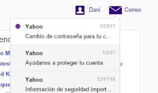 Como ver tus correos sin entrar en Yahoo Mail