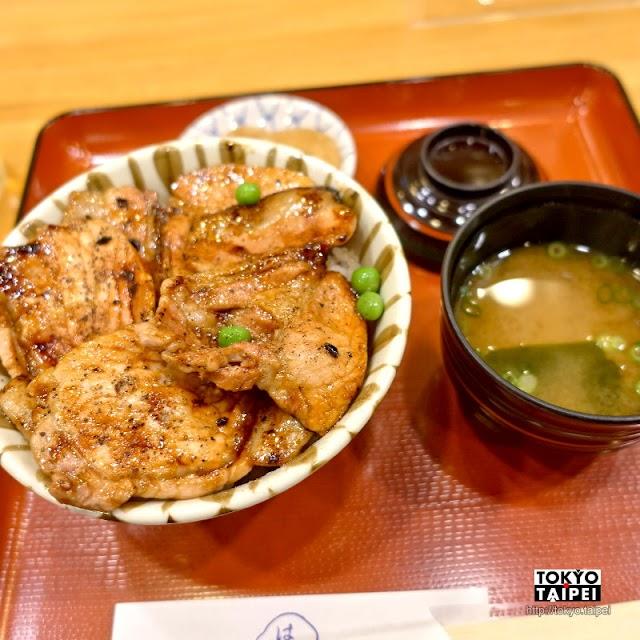 【Hage天】軟嫩北海道豬肉燒烤到香氣四溢 讓人滿足的豚丼老店