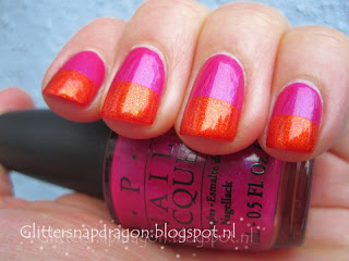 China Glaze Riveting & OPI Flashbulb Fuchsia