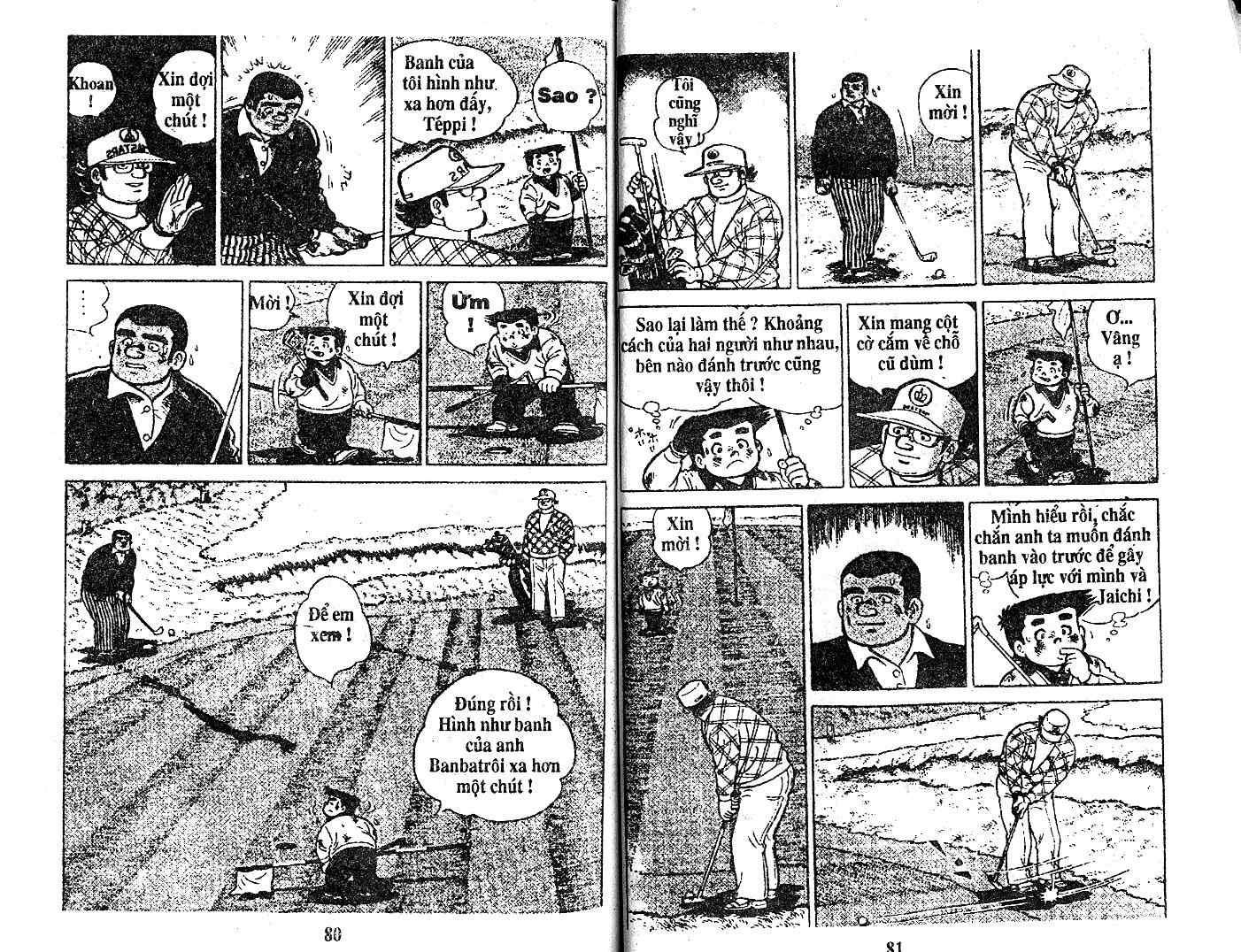 Ashita Tenki ni Naare chapter 18 trang 38
