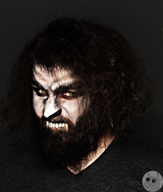 The Wolfman Makeup