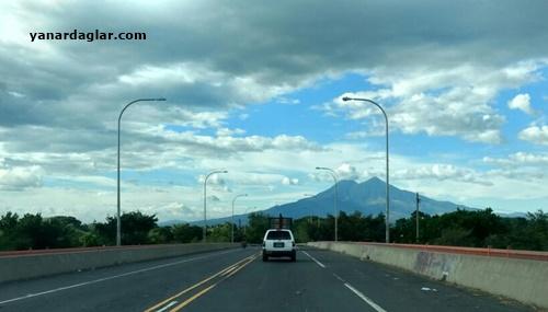 San Vicente Yanardağı Orta Amerika