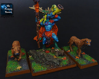Wood Elves Orion with Hounds