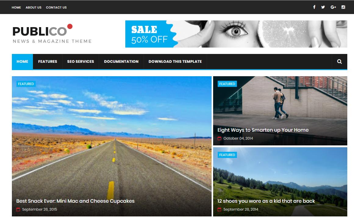Best Blogger Templates Responsive Themes Wordpress Themes