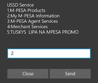 M-PESA Options