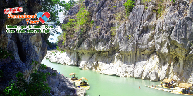 25th Philippine Travel Mart: Minalungao National Park Gen. Tinio Nueva Ecija Pasasalamat Tours