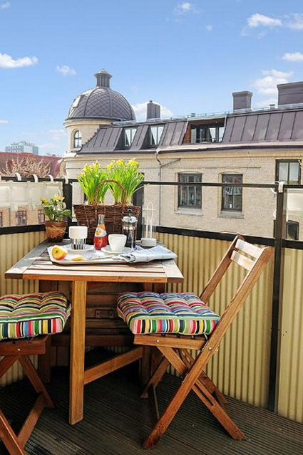 Tips For Decorating Small Balconies On a Budget 2
