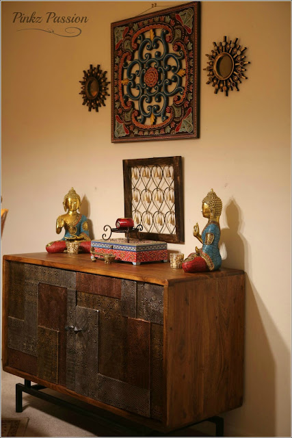 Decideldly Desi home with a Global Whimsy (Home Tour of Priyadarshi Family)