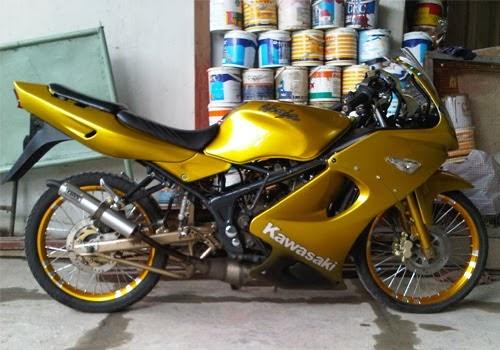 Modifikasi Motor Ninja 150 Rr Velg Jari