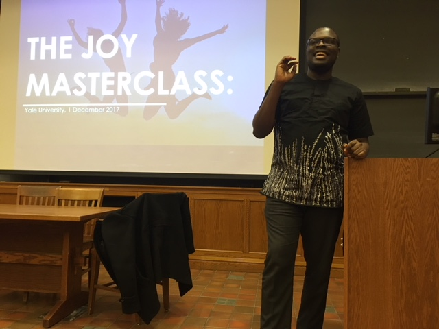 Chude Jideonwo launches Joy, Inc., a revolutionary new company with a simple mission to ?spread happiness across Africa
