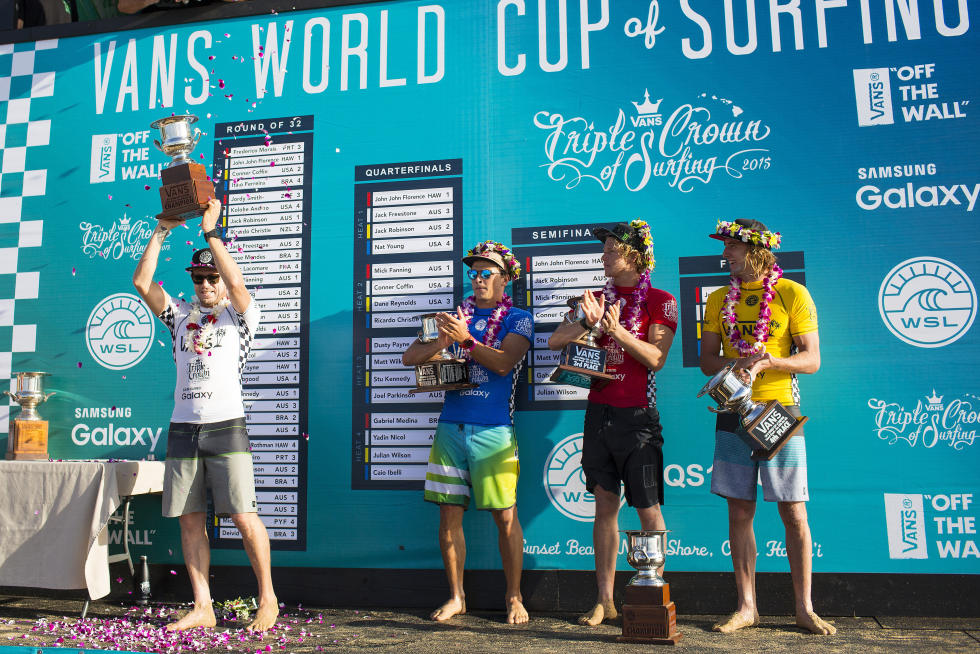 4 Mick Fanning 2015 Vans World Cup Fotos WSL Kirstin Scholtz
