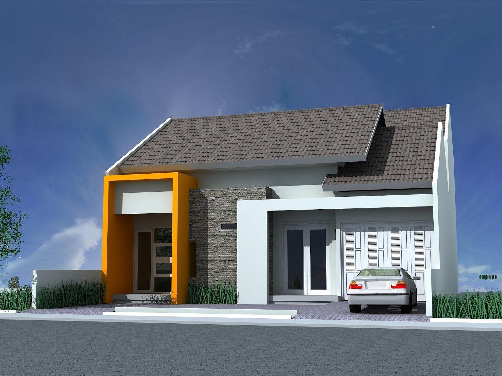 rancangan rumah sederhana modern