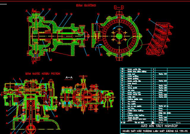 khảo sát hệ thống làm mát động cơ ô tô TOYOTA