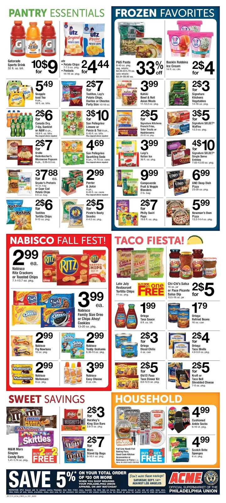 Acme Weekly Ad September 13 - 19, 2019