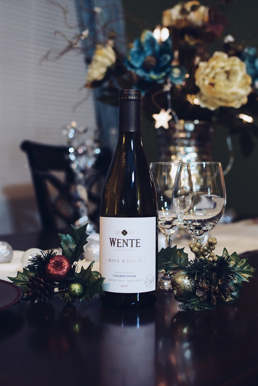 Cozy Christmas ft. Wente Vineyards by Mari Estilo